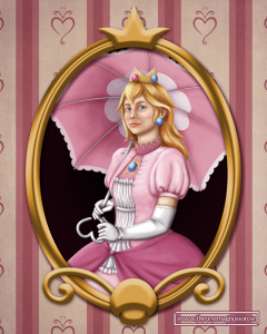 princess peach by therese magnusson